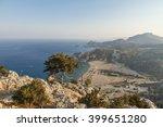 view on scenic stone seashore...   Shutterstock . vector #399651280