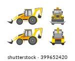 set stock vector illustration... | Shutterstock .eps vector #399652420