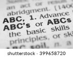 Small photo of ABC's
