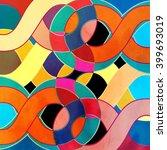 abstract watercolor retro...   Shutterstock . vector #399693019