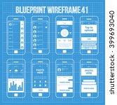 mobile wireframe app ui kit 41. ...