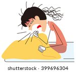 cough | Shutterstock .eps vector #399696304