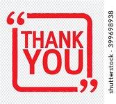 thank you lettering... | Shutterstock .eps vector #399698938