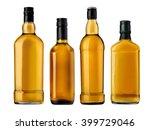 bottles of whiskey isolated on... | Shutterstock . vector #399729046