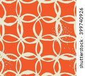 vector seamless pattern design... | Shutterstock .eps vector #399740926