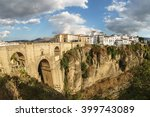 panoramic view of the old city... | Shutterstock . vector #399743089