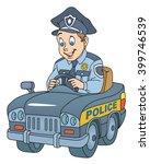 policeman | Shutterstock .eps vector #399746539