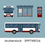 flat style concept of public... | Shutterstock .eps vector #399748516