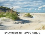 outer banks sand dunes and... | Shutterstock . vector #399778873