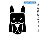 dog icon   vector illustration. | Shutterstock .eps vector #399784114