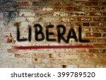 liberal concept | Shutterstock . vector #399789520