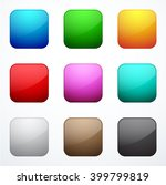 set of square buttons   Shutterstock .eps vector #399799819