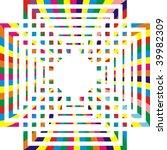 colored rectangular design   Shutterstock . vector #39982309