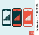 smartphones icon. smartphone...