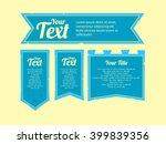 medieval banner flag | Shutterstock .eps vector #399839356