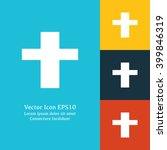 vector illustration of cross...