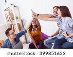 lets do this project together | Shutterstock . vector #399851623