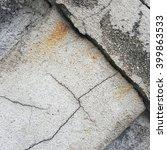 crack concrete texture... | Shutterstock . vector #399863533