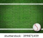 Baseball On The Field. Sport...