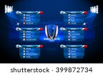 european football championship... | Shutterstock .eps vector #399872734