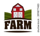 farm fresh design  | Shutterstock .eps vector #399877483