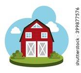 farm fresh design  | Shutterstock .eps vector #399877576