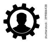 user icon   vector   Shutterstock .eps vector #399886438