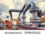 offshore the industry oil and... | Shutterstock . vector #399895630