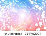 bokeh light multicolored... | Shutterstock . vector #399902074
