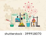data science and analysis... | Shutterstock .eps vector #399918070