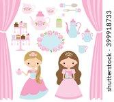 vector illustration of rose... | Shutterstock .eps vector #399918733
