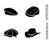 hats vector icons | Shutterstock .eps vector #399922528