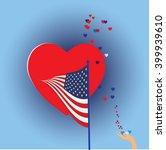 usa flag | Shutterstock .eps vector #399939610
