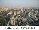 bangkok sunset  bangkok city ... | Shutterstock . vector #399940474