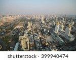 bangkok sunset  bangkok city ... | Shutterstock . vector #399940474