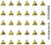 warning signs | Shutterstock . vector #39994888