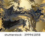 Black Golden Abstract  ...
