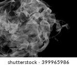 smoke on a black background | Shutterstock . vector #399965986