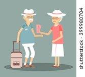 An Elderly Couple Travels....