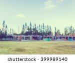 vintage tone blur image of...   Shutterstock . vector #399989140