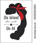 """anonymous style quote """"she... 