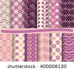 set of abstract vector paper...   Shutterstock .eps vector #400008130