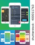 9 mobile wireframes app ui kit...