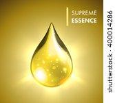 supreme collagen oil drop... | Shutterstock .eps vector #400014286