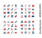 house system color icons | Shutterstock .eps vector #400014394