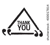 thank you lettering... | Shutterstock .eps vector #400017814