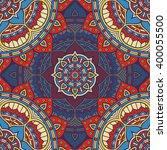 seamless pattern. vintage... | Shutterstock .eps vector #400055500