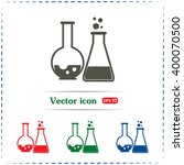 vector illustration test tube... | Shutterstock .eps vector #400070500