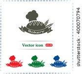 bakery graphic design   vector... | Shutterstock .eps vector #400070794