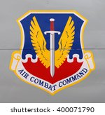 Small photo of TAMPA, FLORIDA - MARCH 20, 2016: Air Combat Command (ACC), established June 1, 1992, headquartered at Langley AFB, operates Air Force bombers and CONUS-based, combat-coded fighter and attack aircraft.